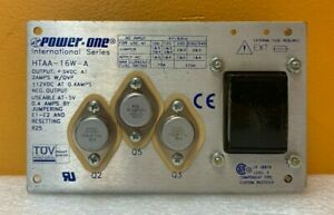 Power One Htaa 15w a 5 Vdc 2a Ovp Triple Output Dc Power Supply Tested