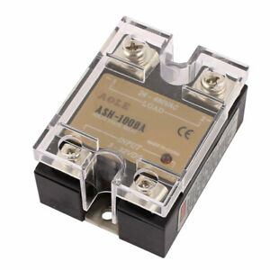 Ash 100da 3 32vdc To 480vac 100a Single Phase Solid State Dc To Ac Relay