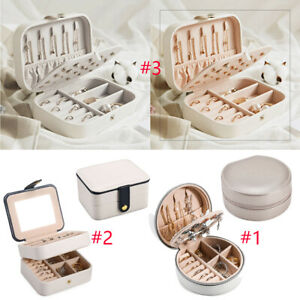 Travel Jewelry Organizer Box Portable Case Necklace Earring Rings Storage Choice