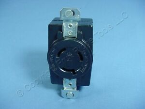 Hubbell Bryant Twist Turn Locking Receptacle Outlet L12 20r 20a 480v 3 71220fr