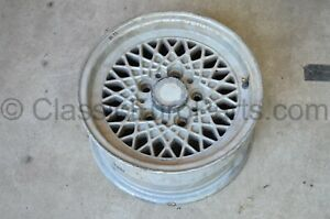 14 6 5j Et22 5x120 Bbs Mahle Ra Wheel Bmw E3 E9 Csl E12 E24 E28 With Defects