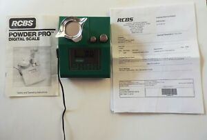 RCBS Pro Digital Scale 98980 with Original Box and Manual $95.00