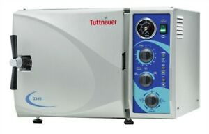 New Tuttnauer 2540m b l Autoclave With 4 Trays