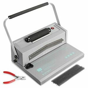 Im pulse Spiral Coil Binding Machine Manual Round Hole Punch Binder With