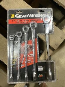 Gearwrench 5pc Sae Xl X Beam Combo Wrench Set 95553