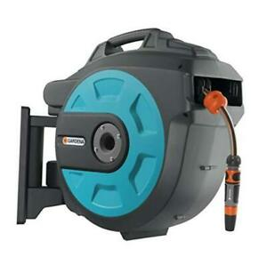 Retractable Hose Reel 82 feet With Convenient Hose Guide