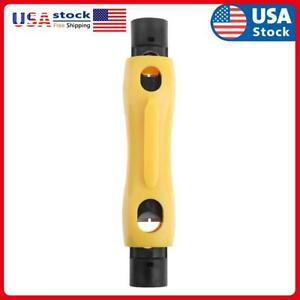 Coax Coaxial Cable Pen Cutter Stripper For Rg59 Rg6 Rg7 Rg11 Stripping Tool Usa