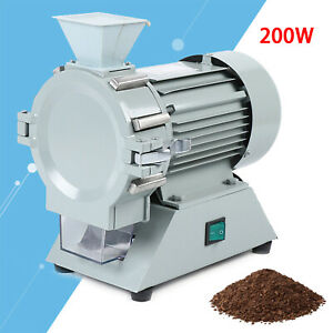New Micro Plant Grinder Soil Crusher Pulverizer Pro Grinding Machine 1400r Min