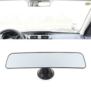 Panoramic Rear View Mirror Universal With Suction Installation Car Interio Ca