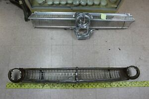 Used Oem Ford Grille 1955 Fairlane G132 Fits 1955 Ford