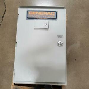 Clearance Generac 100 amp Service Rated Single phase Automatic Transfer Switch