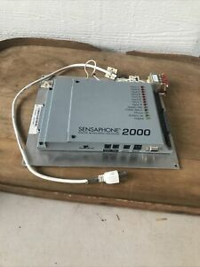 Sensaphone 2000 Autodialer Telemetry Remote Monitoring System Untested Parts