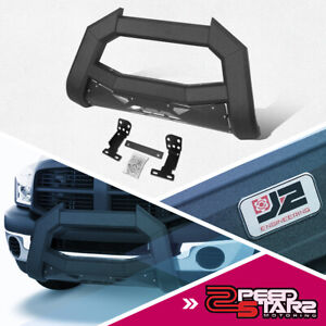Front Bumper Grill Guard Assembly For 02 09 Dodge Ram 1500 3500 Carbon Steel