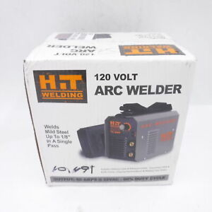 Hit 70 Amp 120v Arc Welder W welding Cable Electrode Holder Grounding Cable