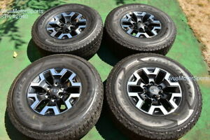 16 Toyota Tacoma Oem Factory Trd Offroad Wheels Tires 4runner Tundra 2021