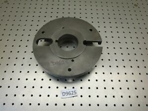9 L0 Long Taper Lathe Drive Plate W Balancing Weights Balancable D9625