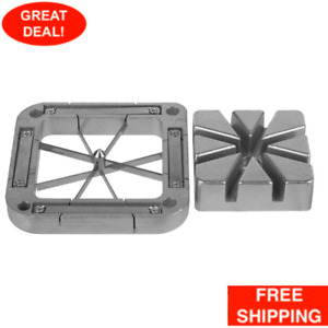 French Fry Blade 8 Wedge And Push Block Assembly Stainless Steel Assembly Cutter