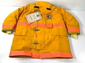 New Fire dex Chieftain 35m Firefighter Bunker Fire Fighting Turnout Coat Xl 50