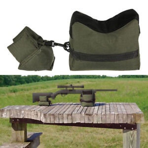 Shooting Hunting Range Sand Bag Combo Set Rifle Gun Bench Rest Stand Front amp;Rear $9.99