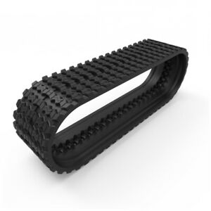 Prowler Rubber Track That Fits A Takeuchi Tl10 Zig Zag Tread