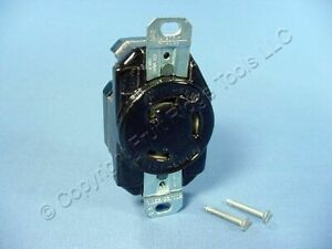 Leviton Industrial Non nema Turn Locking Receptacle Outlet 30a 125 250v 3330 000