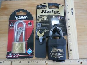 Master Padlock Limited Edition Level 9 Brinks High Security lot 17483
