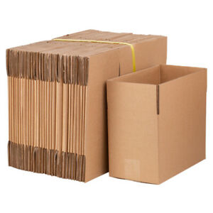 50 100 X Corrugated Carton Paper Boxes Cardboard Paper Mailing Packing Shipping
