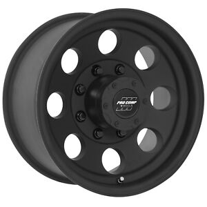 Pro Comp Alloy 7069 6882 Xtreme Alloys Series 7069 In Black Finish Universal