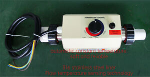 3kw Water Heater For Swimming Pool Bath Tube 220v