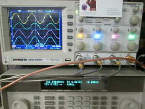 200mhz 4 Ch Dso Instek Gds 2204 Tested Color Lcd Usb 1 Gs s Probes Included