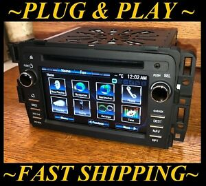 Plug Play Chevy Buick Radio Cd Player Aux Navigation Myfi Stereo Touchscreen