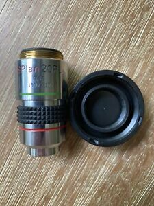 Olympus Splan 20pl 0 46 160 0 17 Phase Contrast Microscope Objective