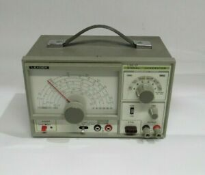 Leader Lsg 17 Signal Generator 100khz To 150mhz up To 450mhz On Harmonics Good