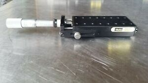 Parker Daedal 4304 Positioning Systems Linear Slide With Micrometer