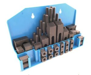 Ultra Quality 58 Piece 5 8 T Slot 1 2 13 Stud Size Clamping Kit 3901 0006