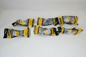 Lot Of 6 New Dewalt Dpg52 Contractor High Performance Safety Glasses