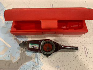 Snap On Torqometer Model Te25fua With Case Excellent Condition