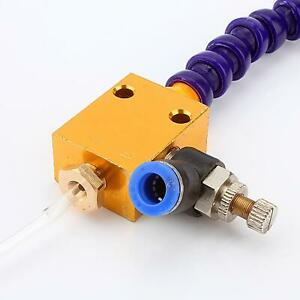 Mist Coolant Lubrication System For Cnc Lathe Milling Drill Grind Processing New