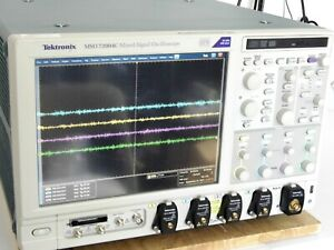 Tektronix Mso72004c 20ghz 100gs s 4 Channel Mixed Signal Oscilloscope