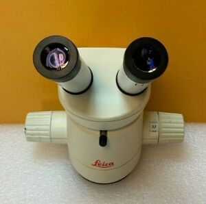 Leica Mz6 0 63 To 4 0x Range 6 3 1 Zoom Stereo Microscope Eyepieces Tested