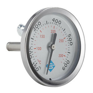 Oven Thermometer Bbq Grill Fry Smoker Temps Gauge Scale 150 600 65