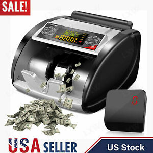 New Money Bill Cash Counting Uv Mg Counterfeit Bank Machine Currency Counter Us