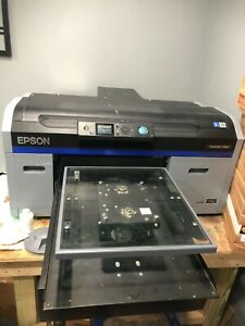Epson Surecolor F2100 Direct to garment Printer Used