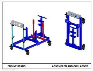 Engine Start Test Stand Plans Email Only