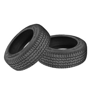 2 X New Cooper Discoverer Snow Claw 265 70r17 115t Tires