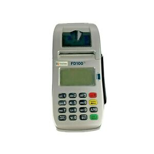 First Data Fd100 Credit Card Machine Tested And Works