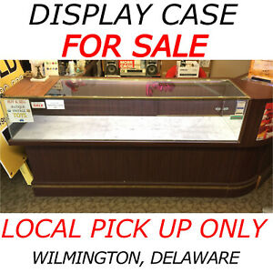 Local Pick Up Only Glass Display Case Showcase Store Fixture Wilmington Delaware