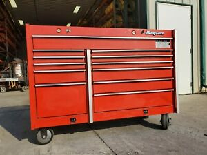 New Listingsnap On Red Roll Cab Tool Box Chest Model Krl761a 12 Drawers