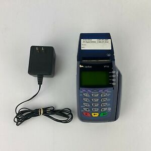 Verifone Vx510 Credit Card Machine With Power Supply Tested And Works
