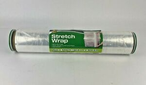 Duck Brand Stretch Wrap Spin Handles 20 Inch X 1000 Feet Clear Single Roll New